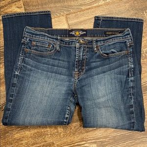 Lucky Brand Sweet N Crop Jeans Size 10/30